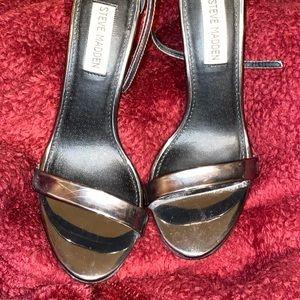 Steve Madden High Heels (metallic)